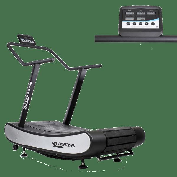 Bieżnia Curve Drax octane fitnes trening cardio trening obwodowy