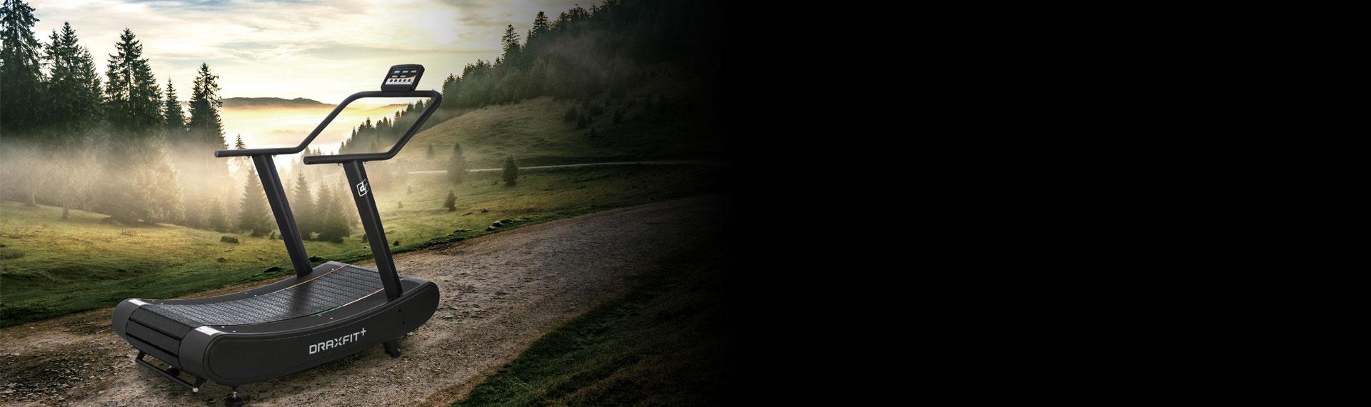 DraxFit + bieżnia beznapędowa od Drax Fitness od Ficast.pl