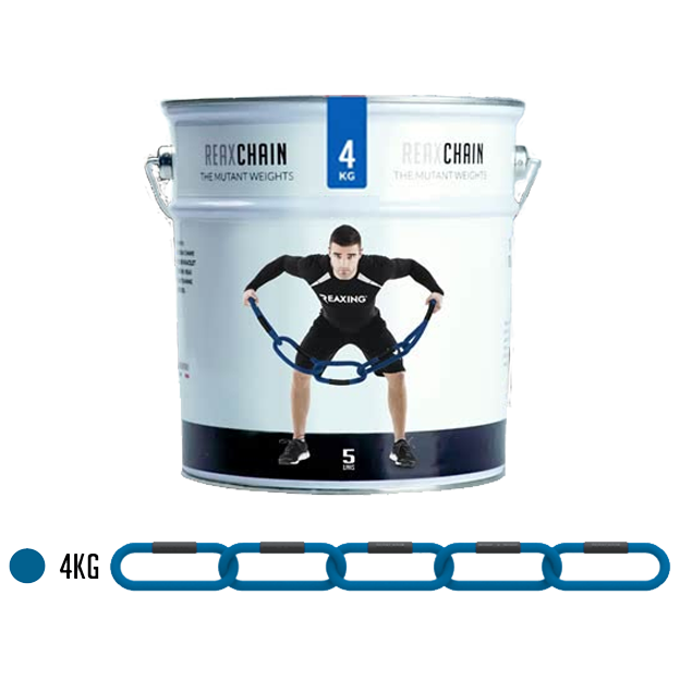 Lancuch funkcjonalny - RX1292 - REAX CHAIN FIVE - PT CAN - 4 KG niebieski