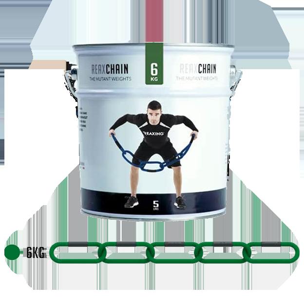 Lancuch funkcjonalny - RX1292 - REAX CHAIN FIVE - PT CAN - 6 KG zielony