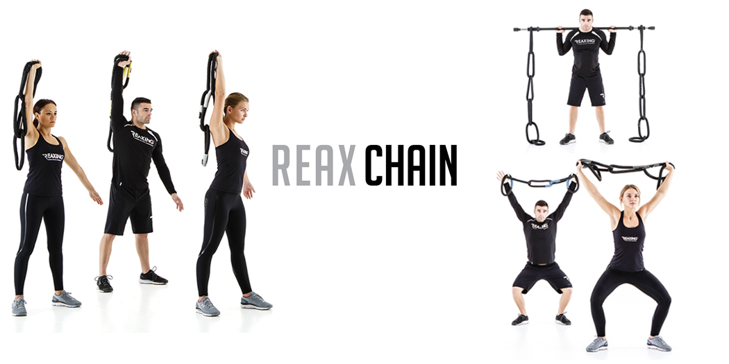 REAX-CHAIN-five Lancuchy treningowe do klubu fitness lub do silowni