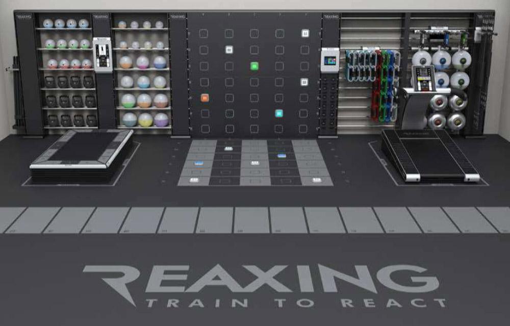 aranzacja przestrzeni treningowej z wykorzystaniem biezni funkcjonalnej reaxing reax run pro