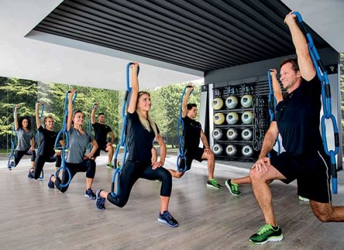 fitness z reaxing chain five