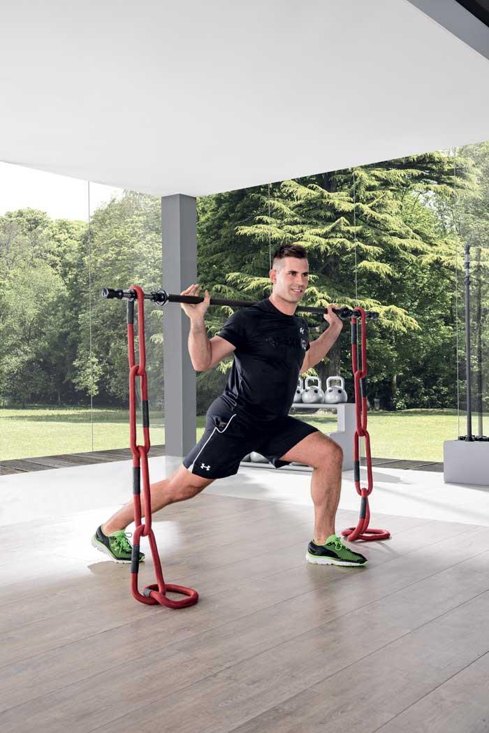 reax chain 5 cwiczenia fitness z lancuchem funkcjonalnym