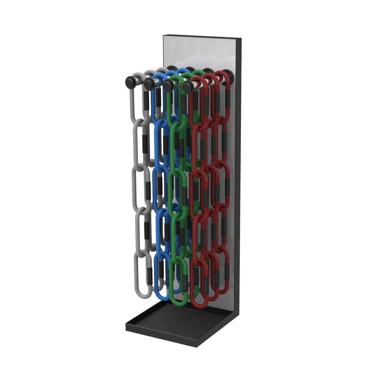 stojak do lancuchow do treningu funkcjonalnego reax-chain-5-display-storage